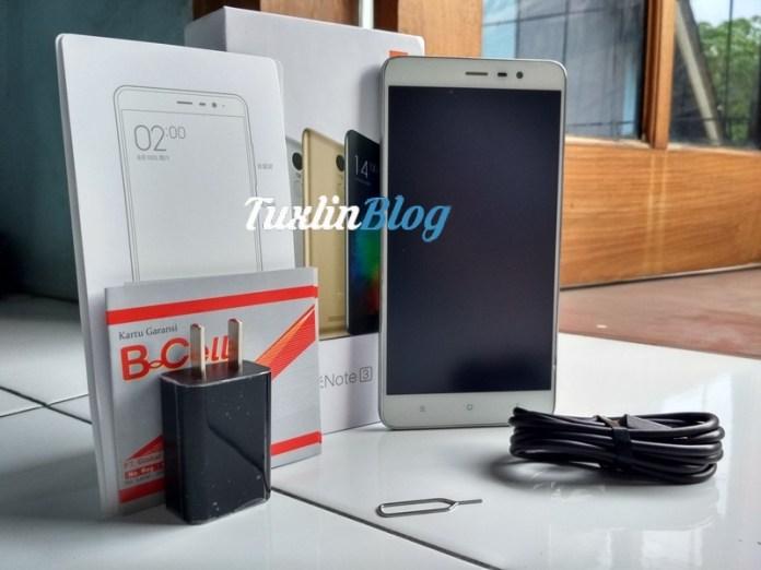 Paket Penjualan Xiaomi Redmi Note 3 Pro