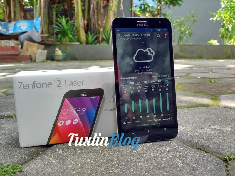 Review Asus Zenfone 2 Laser ZE550KL