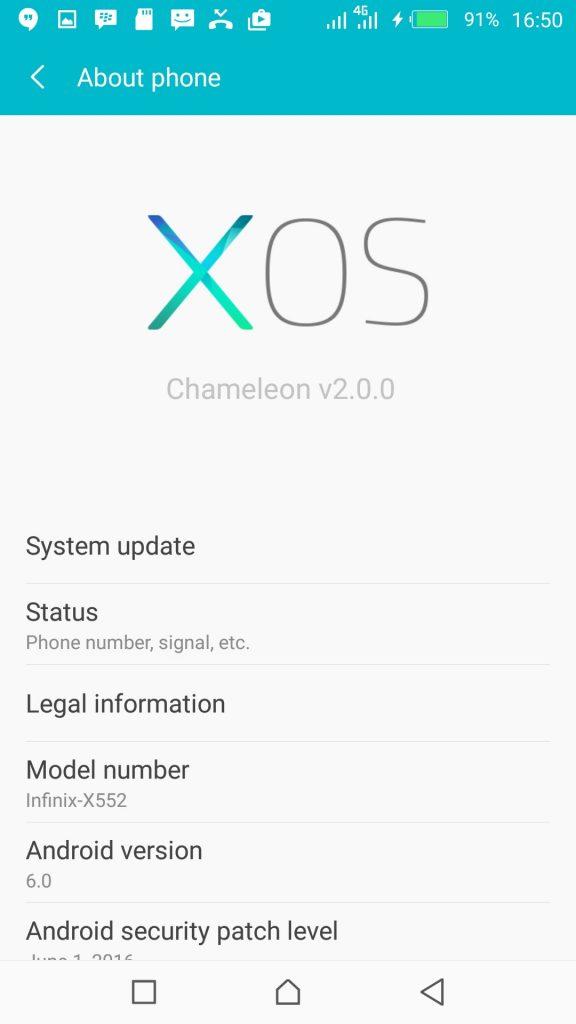 Cara Update XOS 2.0 Chameleon