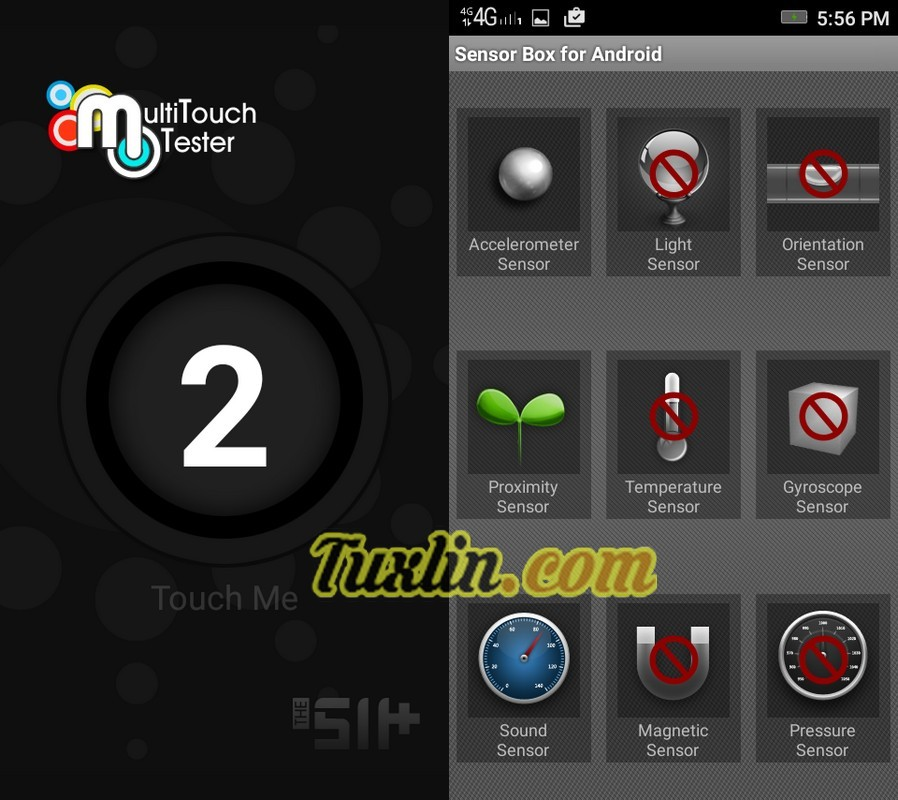 Multitouch Tester & Sensorbox for Android Lenovo Vibe C