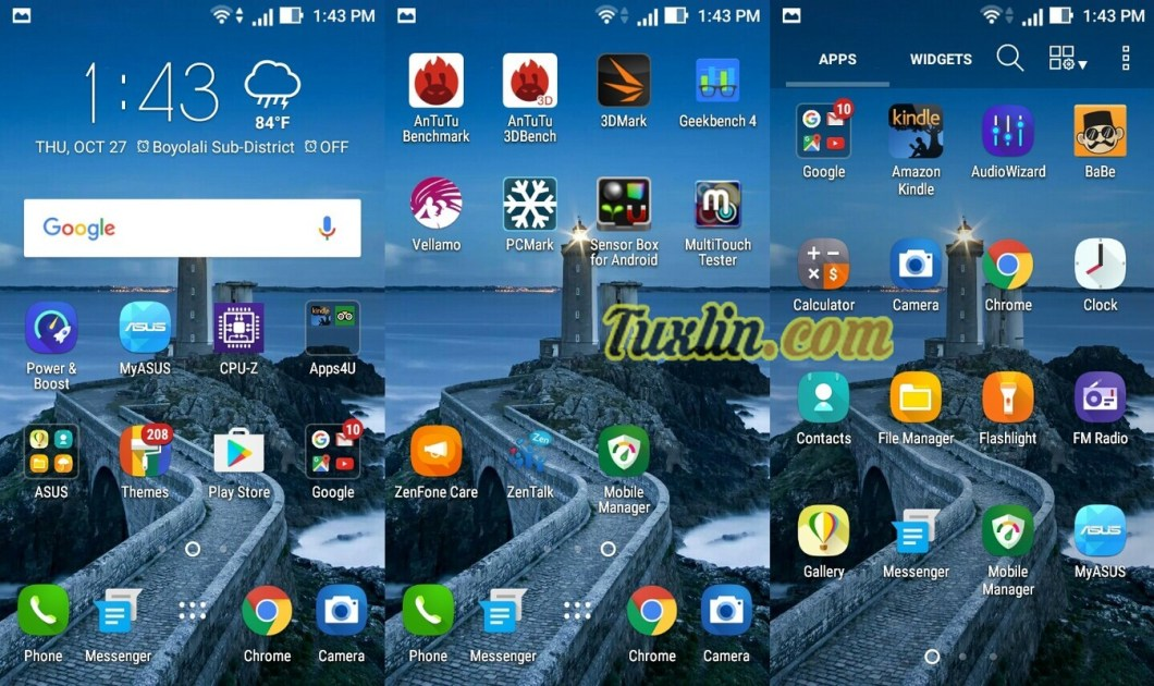 Software & Antarmuka Asus Zenfone Go ZB450KL