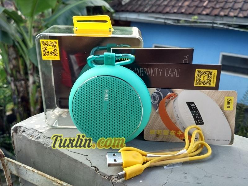 Paket Penjualan Mifa F1 Bluetooth Speaker