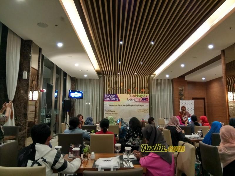 Blogger Gathering Harblognas Bersama JNE