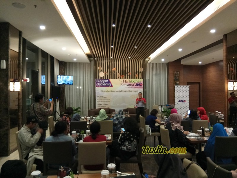 Blogger Gathering Harblognas JNE