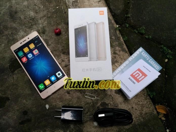 Paket Penjualan Xiaomi Redmi 3X