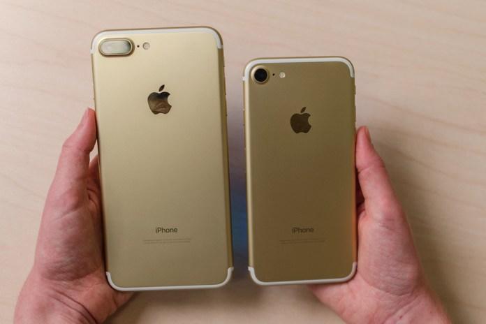 iPhone 7 Plus dan iPhone 7