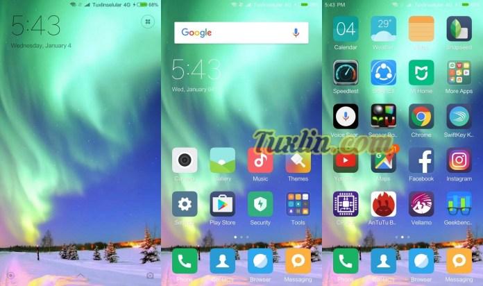 Fitur & Antarmuka Xiaomi Redmi Pro
