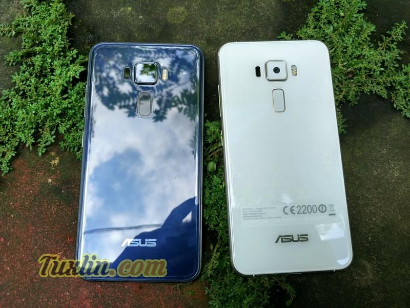 Asus Zenfone 3 ZE520KL Moonlight White vs Sapphire Black