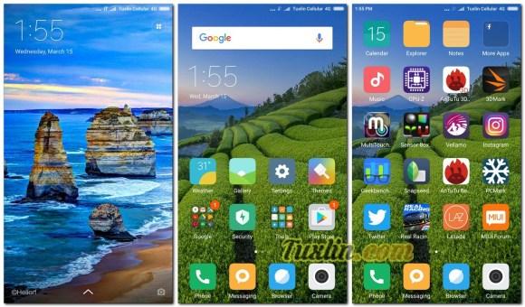 Antarmuka & Fitur Xiaomi Redmi Note 4