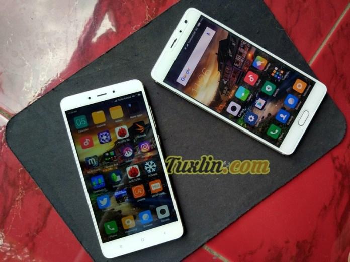 Layar Xiaomi Redmi Note 4 vs Xiaomi Redmi Pro