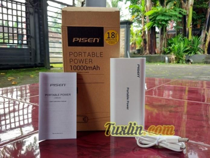 Paket PenjualanPisen Portable Power 10000mAh
