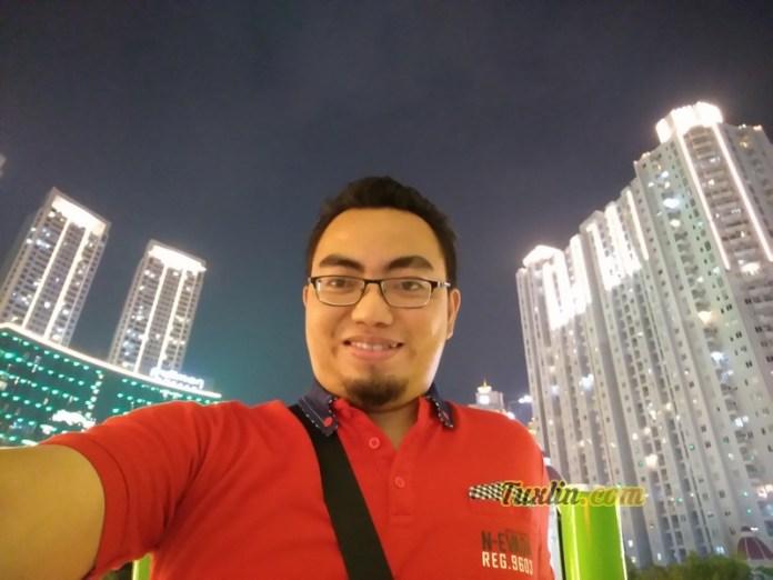 Hasil Foto SelfieAsus Zenfone 4 Selfie ZD553KL Malam Hari