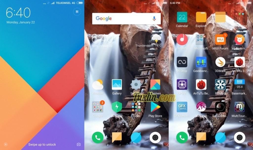 Antarmuka & FiturXiaomi Redmi Note 5A