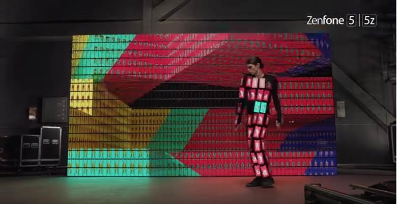 Ada 89 Unit Zenfone 5 dalam Kostum Hasil Duet Asus & OK GO 5