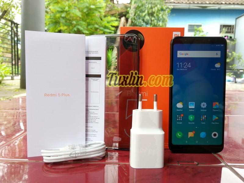 Paket Penjualan Xiaomi Redmi 5 Plus