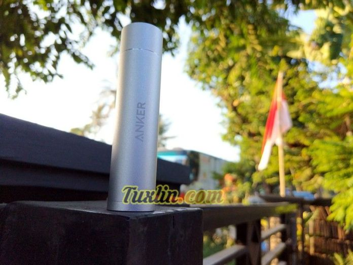 Review Anker PowerCore+ Mini 3350mAh, Power Bank Powerful Seukuran Lipstick