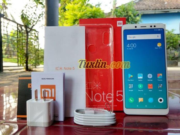 Paket PenjualanXiaomi Redmi Note 5
