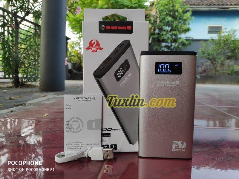 Paket PenjualanDelcell Foil 10800mAh