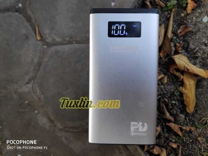 ReviewDelcell Foil 10800mAh