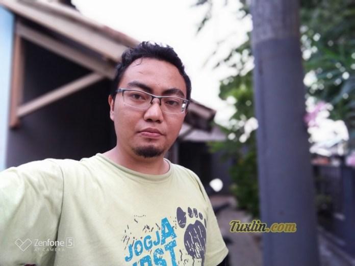 Hasil Foto Kamera Depan Asus Zenfone 5 ZE620KL Portrait Mode