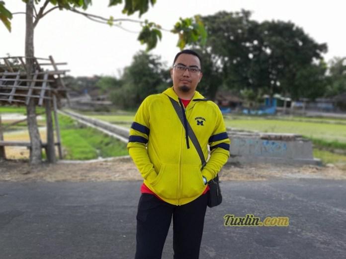 Hasil FotoKamera Samsung Galaxy A7 2018 Portrait Mode