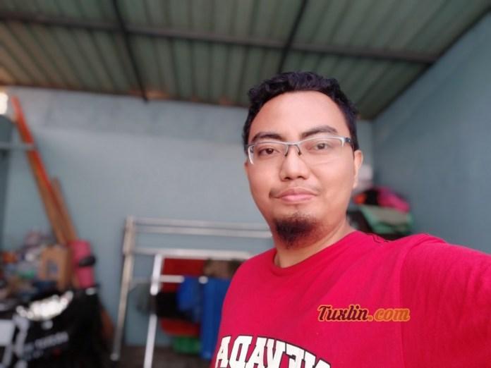 Hasil Foto Kamera Depan Xiaomi Redmi S2 Portrait Mode