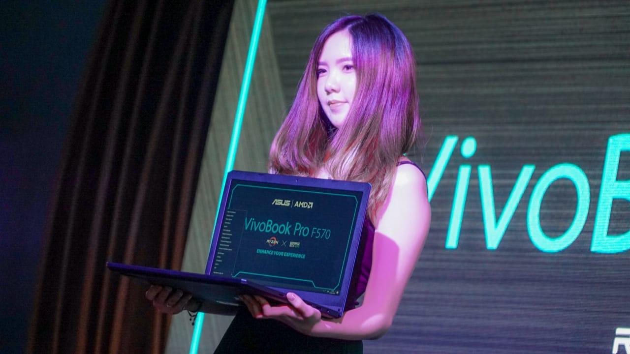 Asus VivoBook Pro F570, Laptop dengan Duet Maut AMD dan Nvidia 4