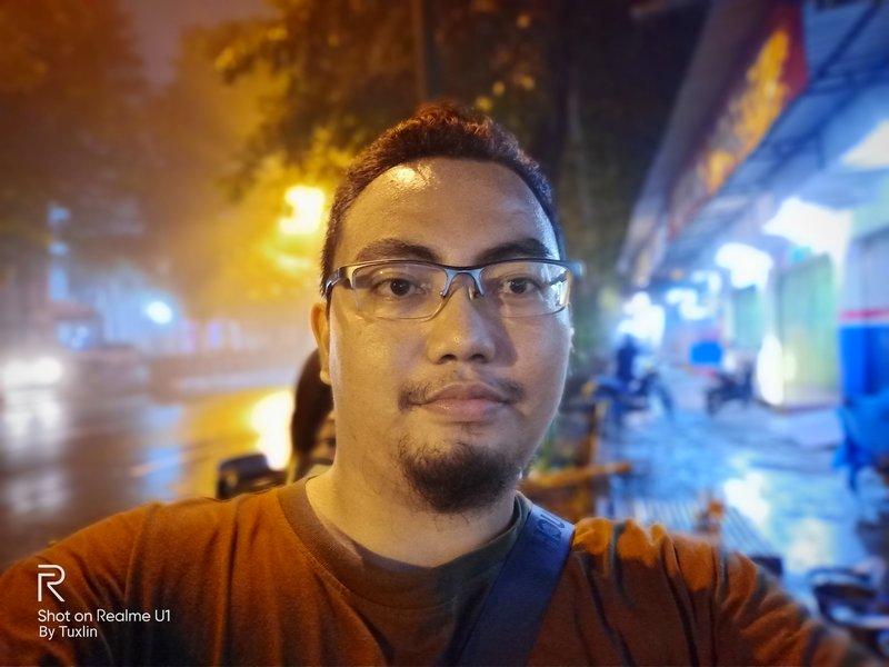 Hasil Foto Kamera Depan Realme U1 Portrait Mode