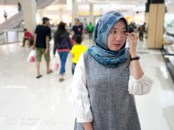 Hasil Foto Kamera Infinix Smart 3 Plus Portrait Mode