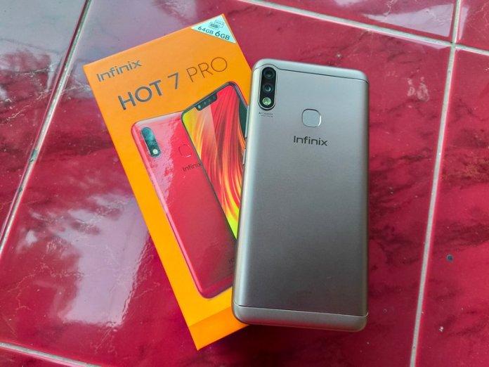 Review Kamera Infinix Hot 7 Pro