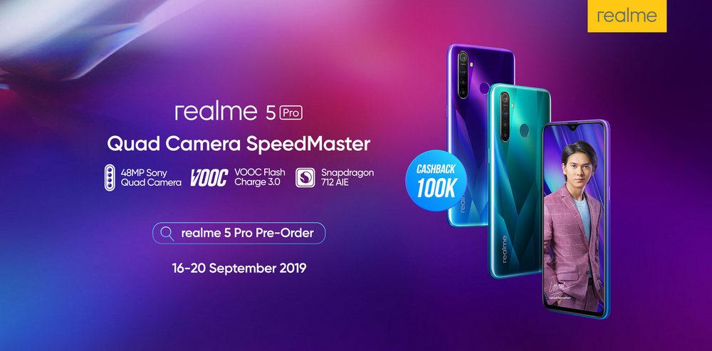 Realme 5 dan Realme 5 Pro dengan Quad Camera Dipastikan Masuk Indonesia 2