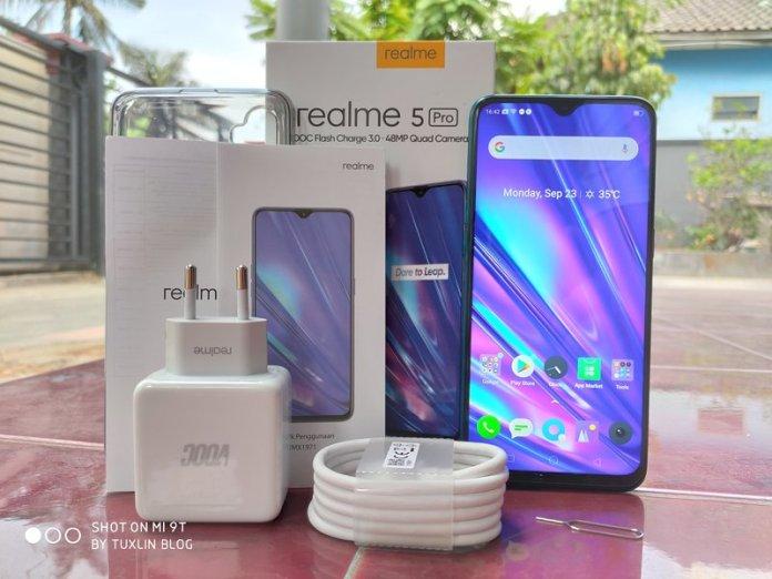 Paket Penjualan Realme 5 Pro