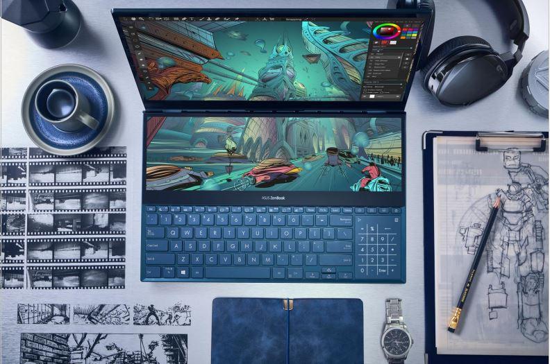 Asus Perkenalkan Zenbook Pro Duo dan Zenbook Duo 2