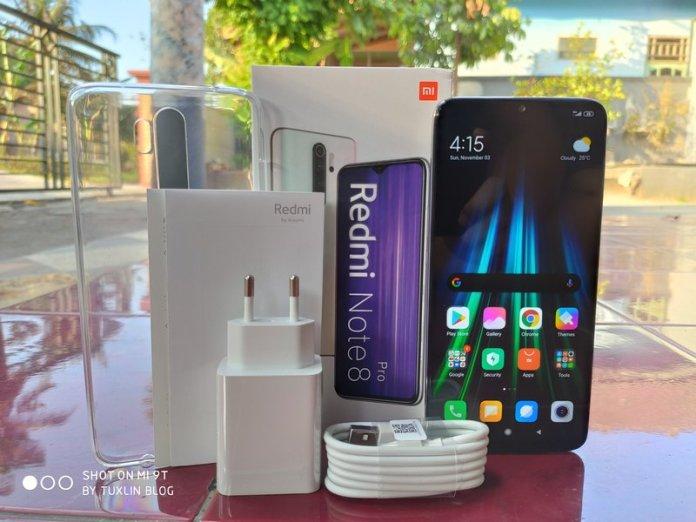Paket Penjualan Xiaomi Redmi Note 8 Pro