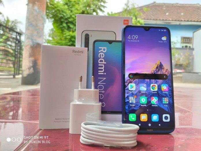 Paket Penjualan Xiaomi Redmi Note 8