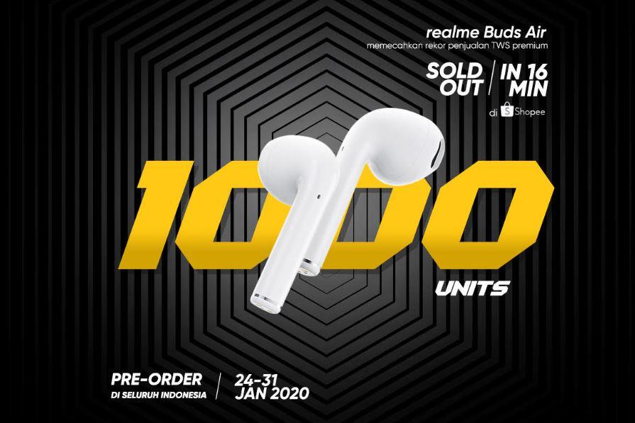 Realme 5i & Realme Buds Air TWS Ludes di Flash Sale Perdana! 2