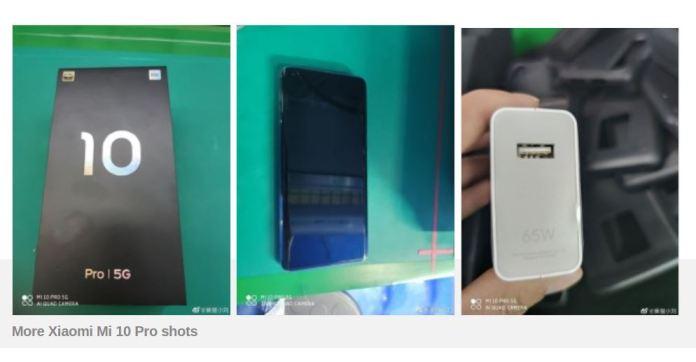 Ini Penampakan Xiaomi Mi 10 Pro, Bertenaga Snapdragon 865 & Fast Charge 65W 1