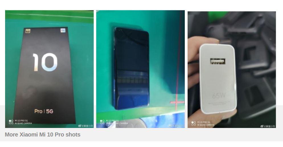 Ini Penampakan Xiaomi Mi 10 Pro, Bertenaga Snapdragon 865 & Fast Charge 65W 2