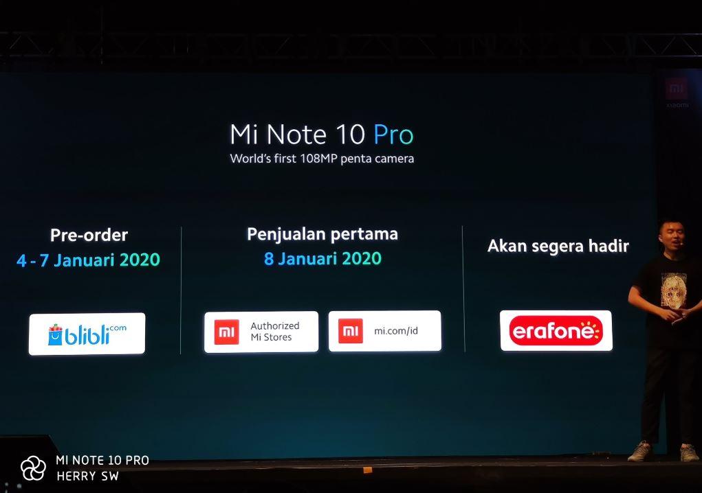 Xiaomi Mi Note 10 Pro Resmi Diluncurkan di Indonesia, Ini Harganya 4