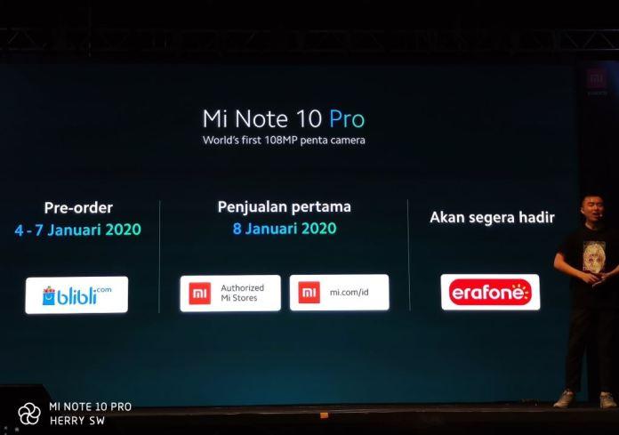 Xiaomi Mi Note 10 Pro Resmi Diluncurkan di Indonesia, Ini Harganya 3