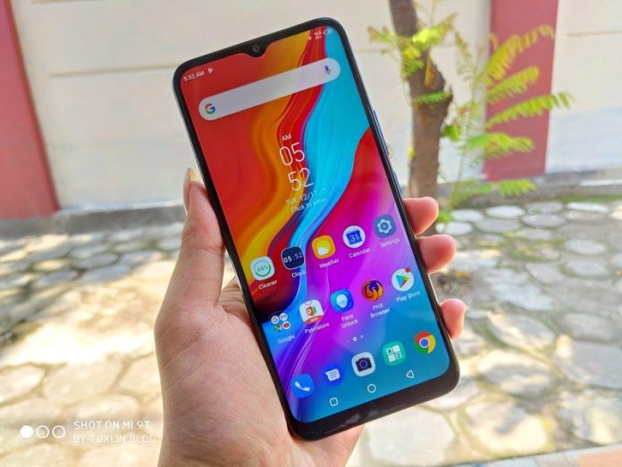 Review Infinix Hot 8