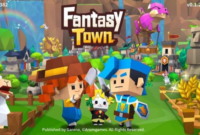 Tutorial Main dan Top Up Game Garena Fantasy Town 1