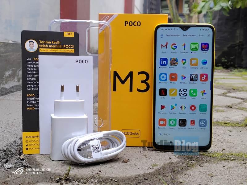 Paket Penjualan Poco M3