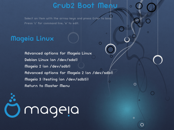 Mageia-3-RC-Grub-2