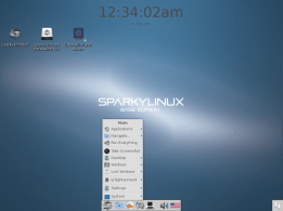 Sparky Linux Enlightenment 0.20