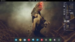 Arch Linux 2016.04.01 GNOME Shell