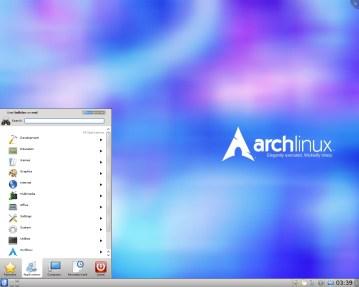 Arch Linux 2016.01.01 KDE