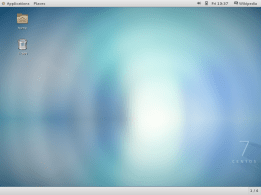 CentOS 7.0 GNOME 3, Desktop.