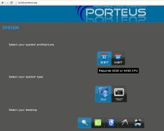 Porteus Kiosk, installazione.