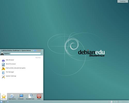skolelinux 8.0 KDE
